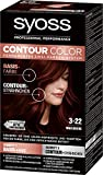 SYOSS Contour Color 3-22 Maulbeere, permanentes Zwei-Farben-System, 1er Pack (1 x 183 ml)