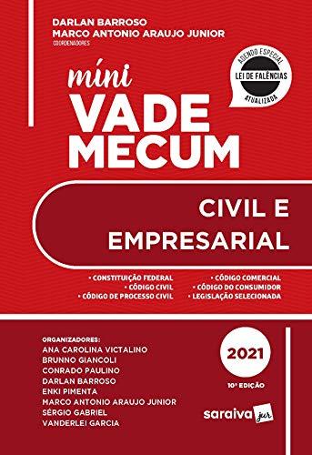Mini Vade Mecum Civil - 10ª Edição 2021