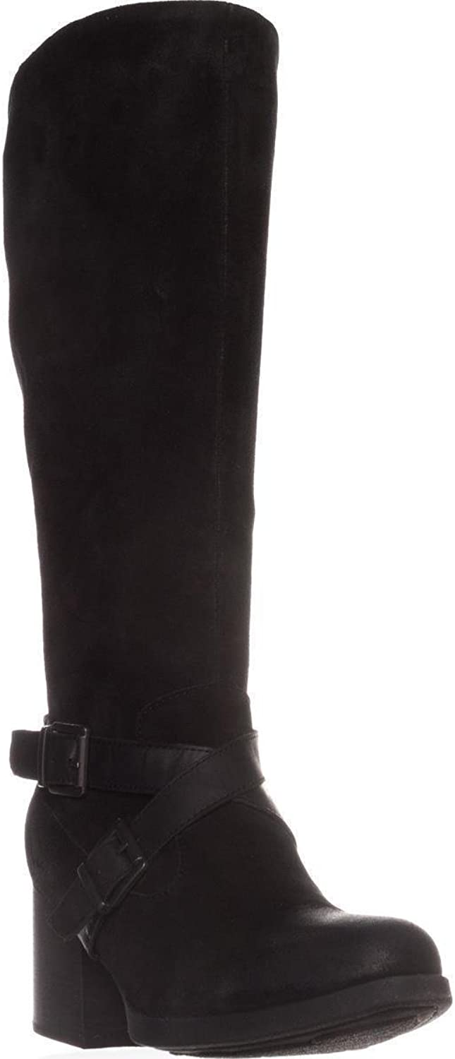 B.O.C Born Dakota Casual Knee-High Boots, Black Suede, 10 US   42 EU