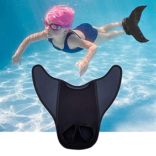Gidenfly Aletas de natación, aletas de entrenamiento de natación para esnórquel, natación, buceo, flotante, aleta de natación, ayuda para adultos, hombres, mujeres y niños