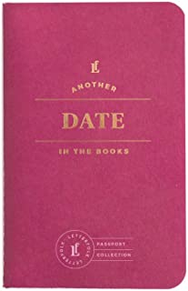 Date Passport Journal — Pocket-Sized Dating Book by Letterfolk