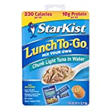 StarKist Lunch To-Go Chunk Light Mix Your Own Tuna Salad - (Pack of 12)