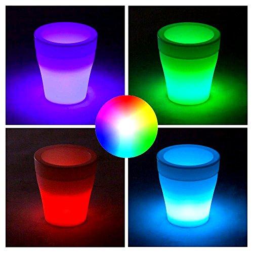RGB-Led Eiswürfelbehälter - LED Beleuchtung mit automatischer Farbänderung