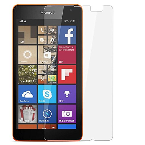 Abeera 9H Super Glossry Impossible Screen protector compatible for Nokia Lumia 540 (not a tempered glass)