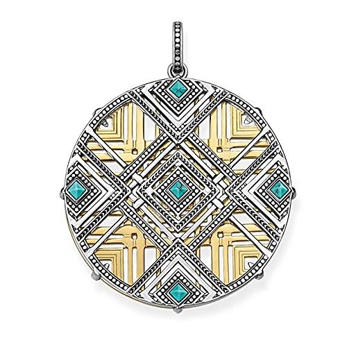 OYZY Colgante De Adornos De África Azul, Joyería 925 Plata Esterlina Bijoux Collar Accesorios Accesorios De Regalo For Hombres Hombres