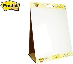 Lavagna Adesiva da Parete Lavagna Cancellabile Post-it Super Sticky in Rotolo Post-it Colore Bianco,121.9 X 243.8 Cm
