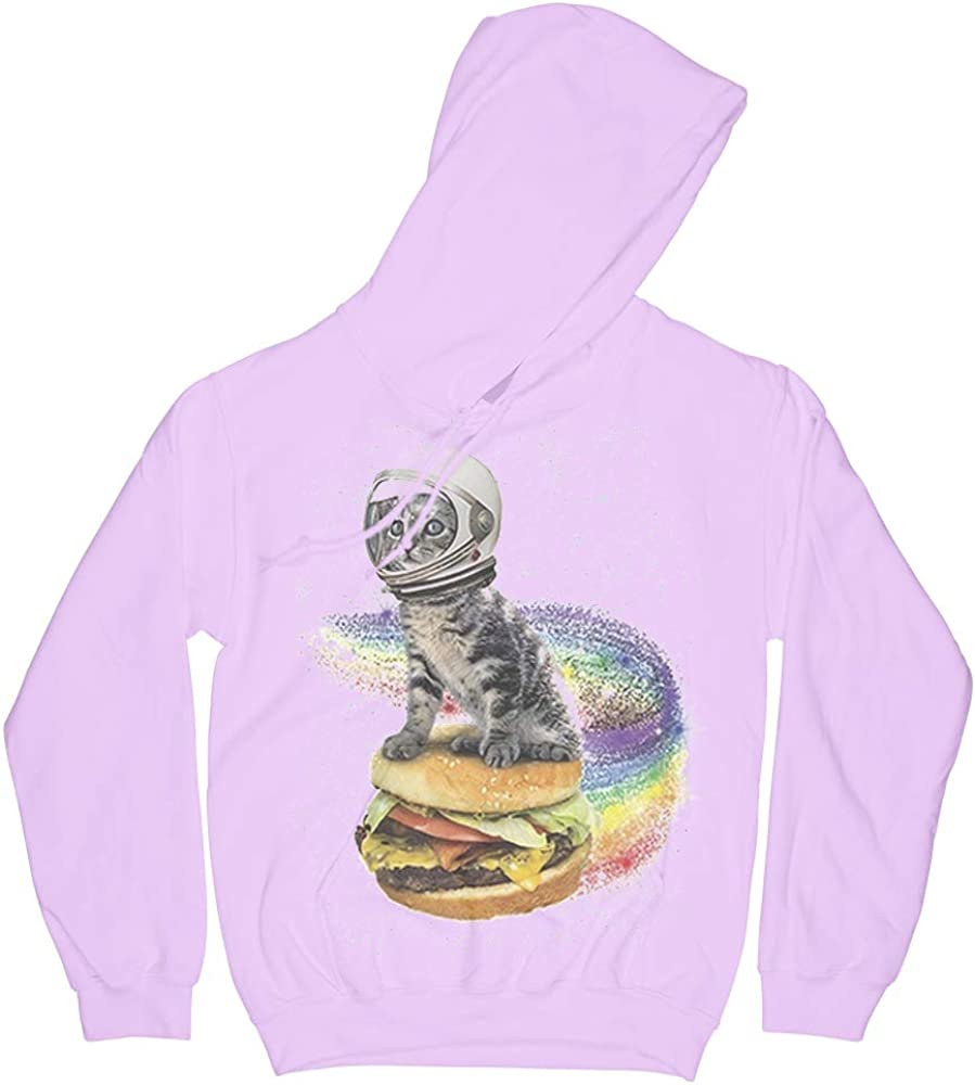 Funny Space Cat Cheeseburger Albuquerque Mall Mom Lover Special Campaign Hoodie Gifts