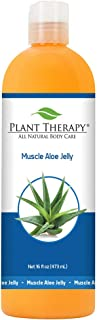 Plant Therapy Muscle Aloe Aromatherapy Jelly.All Natural, Made with 100% Pure Essential Oils. 16 Fl Oz