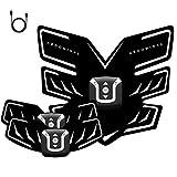 Better Angel Electroestimulador Muscular Abdominales Cinturón,Masajeador Eléctrico Cinturón con USB,EMS Ejercitador del Cuerpo de los Músculos de Brazos y piernas para Hombre Mujer Certificado CE BA