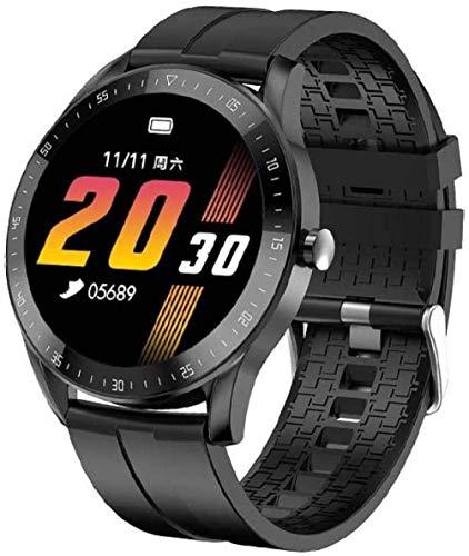 Reloj inteligente Cross-border nuevo F15 pulsera inteligente círculo completo táctil IP68 impermeable hombres y mujeres presión arterial detección de frecuencia cardíaca reloj de pantalla redonda