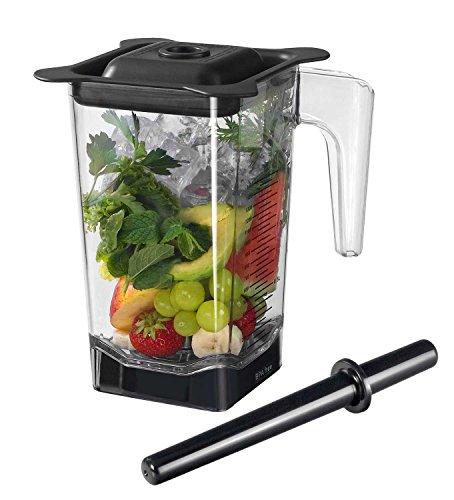 1,5 Liter Behälter/Ersatzbehälter für den Pofi YaYago Smoothie Maker Power Mixer Blender Icecrusher 1,5 l inkl. Schneidemesser, Stößel und Deckel/Omniblend V Behälter