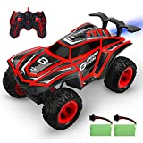 DEERC RC Cars 1/12 Scales Remote Control Car 4WD Off Road Rock Crawler,2.4GHz