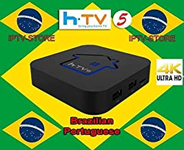 HTV5 6 Brazilian Channels TV Box � Better Then A2 A3 4K Brazilian IP TV6 8 Channels � Over 300 Brazilian Box Channels � Performant System Brasil Canasis �Brazilian tv Shows Channel and Much More
