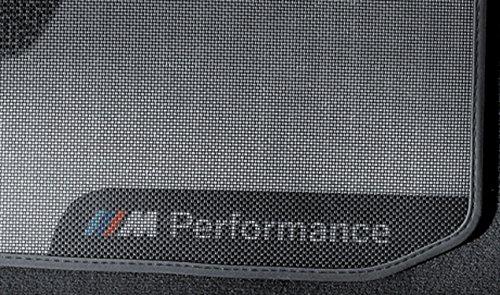 BMW Original M Performance Auto-Fußmatten Heck-Set F20 LCI 1er-Serie 51472409929