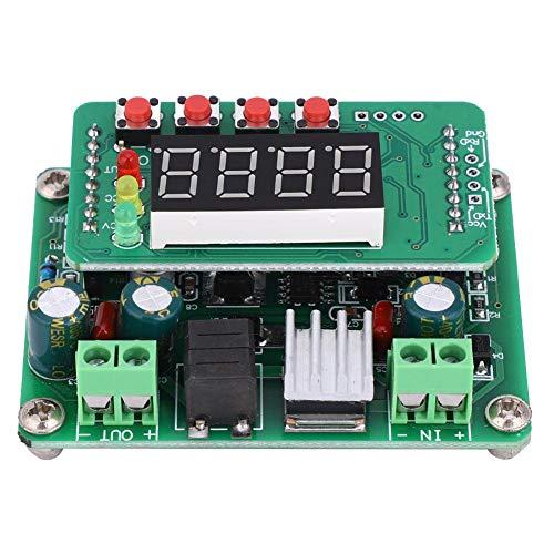 Módulo reductor de voltaje, convertidor de potencia CC-CC preciso, pantalla digital completa...