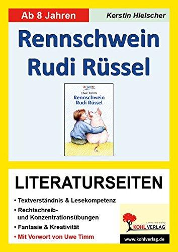 Rennschwein Rudi Rüssel - Literaturseiten