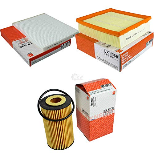 MAHLE/KNECHT Inspektions Set Inspektionspaket Luftfilter Ölfilter Innenraumfilter