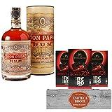 Kit Degustazione Rum e Cioccolato Don Papa 70cl 36 Sfoglie Perugina Extra Fondente 70% SENZA GLUTINE