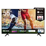 Hisense 55AE7000F 139 cm (55 Zoll) Fernseher (4K Ultra HD, HDR, Triple Tuner DVB-C/ S/ S2/ T/ T2,...