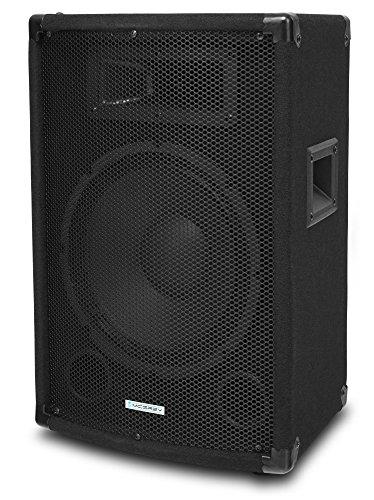 McGrey TP-10 DJ PA luidspreker box subwoofer 400W (passief, 2-weg systeem, houten behuizing, 35mm flens) 10 Zoll
