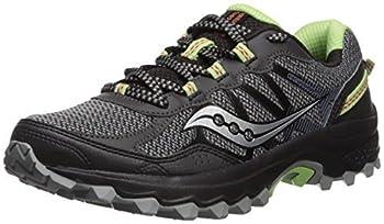 Saucony Women s Excursion TR11 Running Shoe Black/Lime 8 Medium US