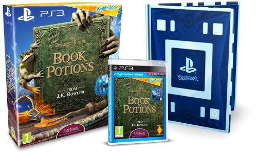 Wonderbook: Book of Potions (PS3) [PlayStation 3] - Game [Importación Inglesa]