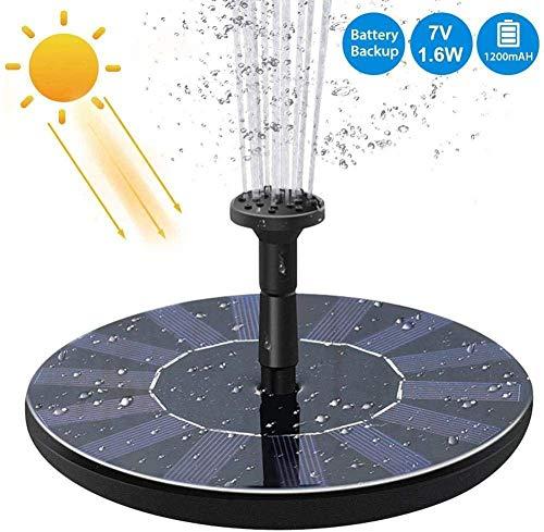 Fuente Solar Bomba Agua Bomba Agua Solar Fuente Flotante Baño Solar eléctrico...