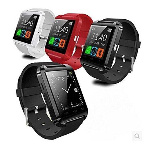 ARBUYSHOP fábrica 100pcs reloj inteligente V U8 SmartWatch reloj inteligente dispositivos portátiles U8 para el iPhone Samsung HTC Android Teléfono