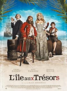 Treasured Island Movie Poster (27 x 40 Inches - 69cm x 102cm) (2007) French -(Ralph Nader)(Pat Buchanan)(Howard Zinn)(Phil Donahue)(Andrew Egendorf)(Robert Fellmeth)