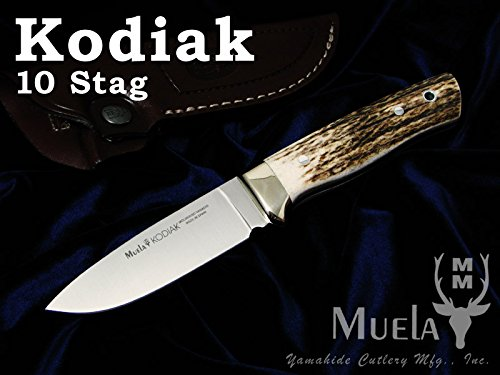 Muela(ムエラ) KODIAK-10A コディアック 100mm スタッグハンドル シースナイフ 【日本正規品】