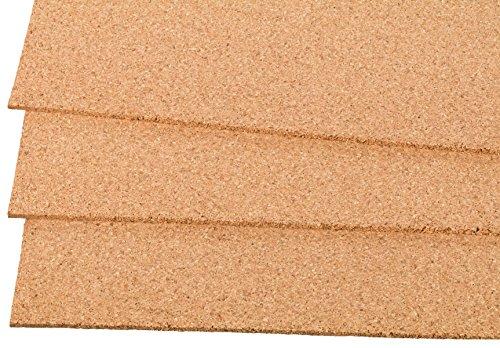 Kork Dämmplatten aus Presskork 900x600 mm, 5mm dick - die ökologische und natürliche Art der Isolation