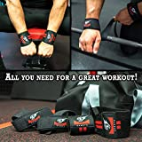 Immagine 2 combo lifting straps wrist wraps