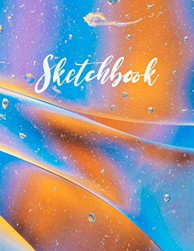 Sketchbook: Best Sketch Book with Blank White Paper for Drawing, Doodling, Painting, Writing, 120 Pages, 8.5x11 (Abstract Design Volume 5)