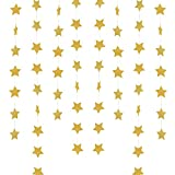 HANGING STAR W/MOSS 4PK