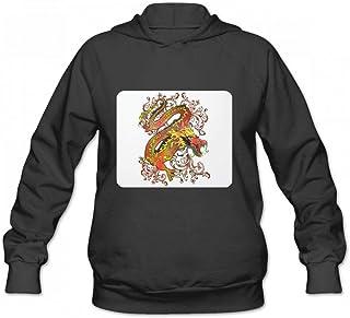 ファイアードラゴン Women Hoodie Sweater レディーズ トップス パーカー アクティブウェア