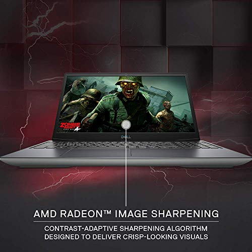 DELL Inspiron 15-5505 Gaming 15.6-inch FHD Laptop (AMD R7 4800H/8GB/512GB SSD/Windows 10 Home Plus & MS Office/AMD Radeon RX 5600M Graphics), Silver