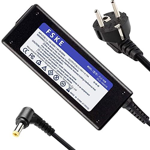FSKE® Ladekabel für Acer Laptop 19V 4,74A 90W Netzteil für Acer Aspire E15 E17 ES15 V5 5750G 7750g 7741G 3 5 ADP-90CD DB A10-090P3A PA-1900-32 Packard Bell usw, Notebook Ladegerät Stecker:5,5 * 1,7mm
