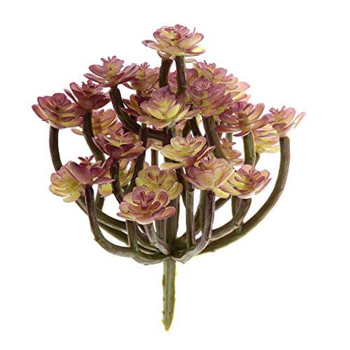 Generic künstliche Pflanze Blume Laub Pflanze Seerose Dekor Kunststoff 9 Typ - #8