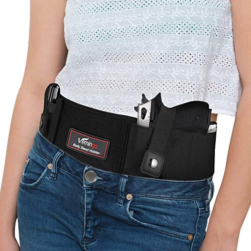 Vemingo Upgraded Belly Band Holster for Men and Women,...
