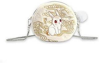 Limited Anime Grandmaster of Demonic Cultivation Wuxian Wangji Kwaii Rabbit Mini Plush Shoulder Bag Cosplay Gift