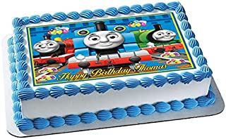 Thomas Train (Nr2) - Edible Cake Topper - 7.5