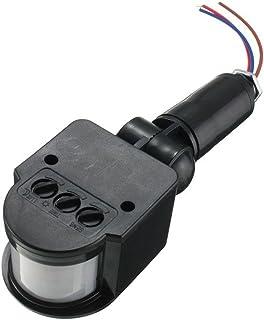 Blesiya Motion Sensor Light Switch, PIR Sensor Switch, Occupancy Sensor Light Switch, Motion Detector, DC12V, 2 Colors - B...