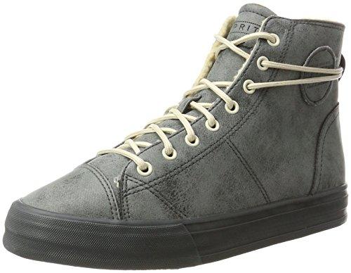 ESPRIT Damen Simona Bootie Hohe Sneaker, Grau (Dark Grey), 41 EU
