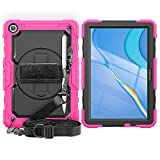 FANSONG Matepad T10s Case with Screen Protector [360