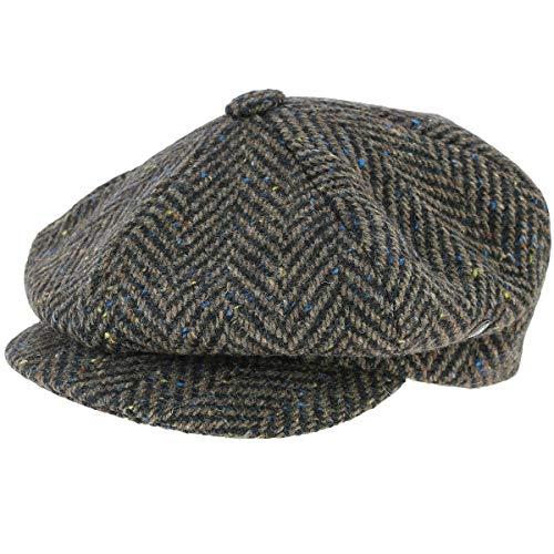 City sport - Gorra irlandesa tweed Fingal marrón 60 cm