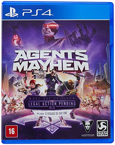 Agents of Mayhem - Day One Edition - PlayStation 4