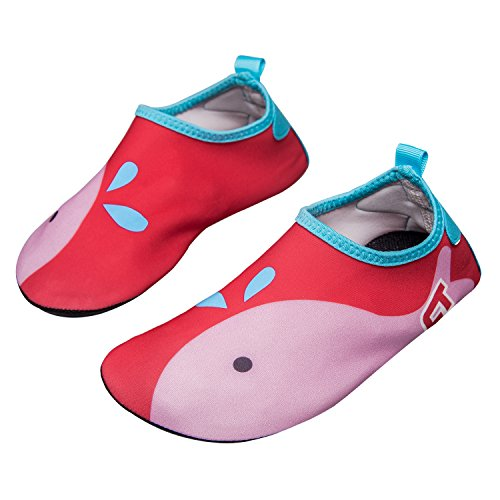 norocos Boys Lightweight Water Shoes Soft Barefoot Shoes Quick-Dry...