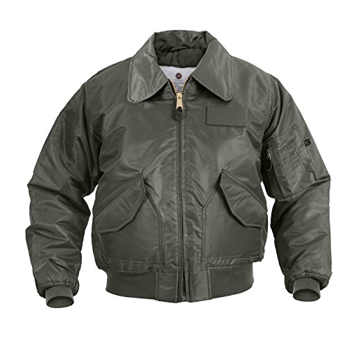 Rothco CWU-45P Flight Jacket, 3XL, Sage Green