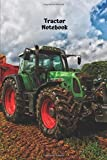 Tractor Notebook: Notebook, journal for entering for school and leisure.