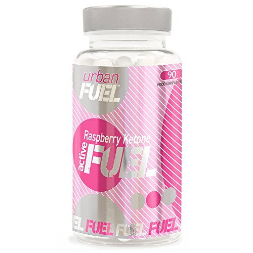 Raspberry Ketone Fuel by Urban Fuel Active Raspberry Ketone Fuel Diet Pills Complex Fat Burners with Raspberry Ketone, Green Tea, Apple Cider, Citrus Pectin and Caffeine to Name a Few | 90 Capsules